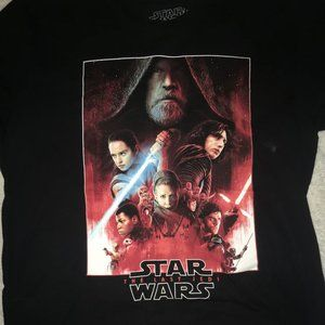 Star Wars The Last Jedi Galaxy Premiere L Shirt